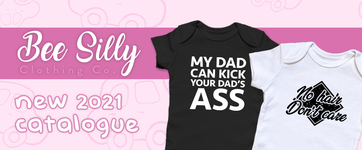 Funny Baby Clothes - funniest onsie designs of 2021 - BeeSilly by Jailbird Designs
