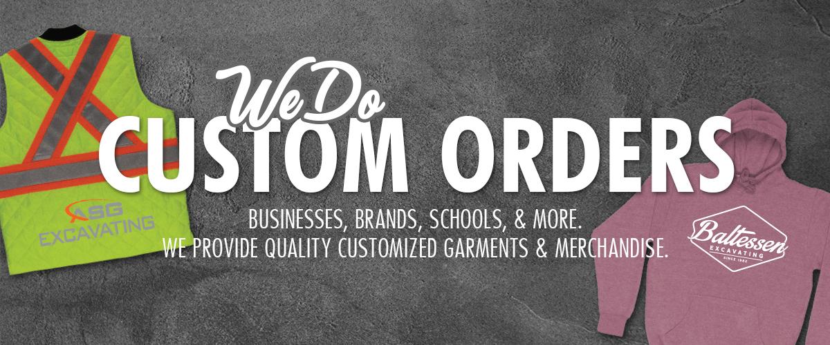 Jailbird Designs does custom clothing rders