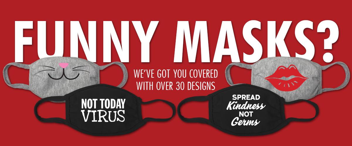 Shop Funny Masks - Jailbird Designs